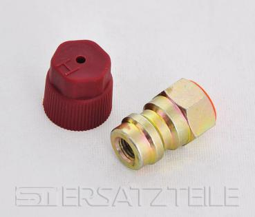 Retro fit adapter , high pressure , 1/4""