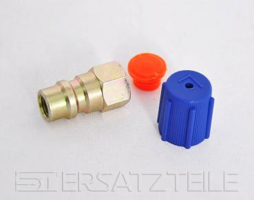 Retro fit adapter , low pressure , 1/4""