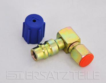 RETROFIT-ADAPTER, NIEDERDRUCK, 1/4˝, 90°