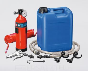Air conditioning flushing set 100