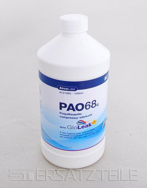 PAO oil AA1 plus UV 1000 ml